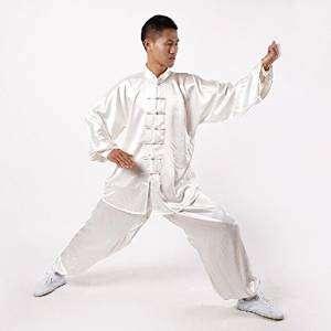 Kimono de Kung Fu de Seda Andux