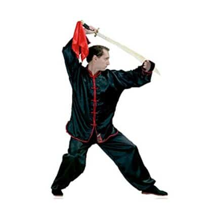 Kimono de Kung Fu satén Fuji Mae