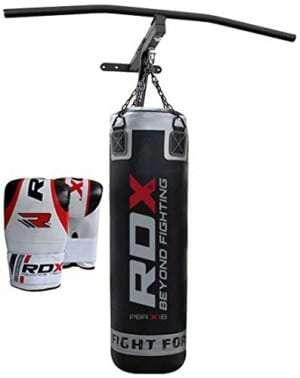 Bolsa de boxeo con soporte RDX Heavy Duty Lleno