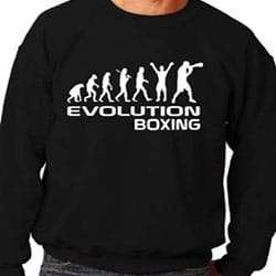 Sudadera Print4U de Boxeo para hombre