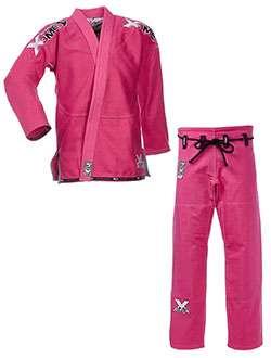 Kimono bjj rosa