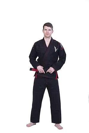 Kimono jiu jitsu Vector