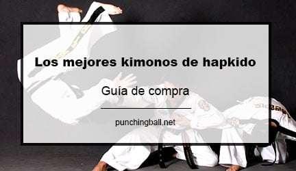Los mejores kimonos de hapkido