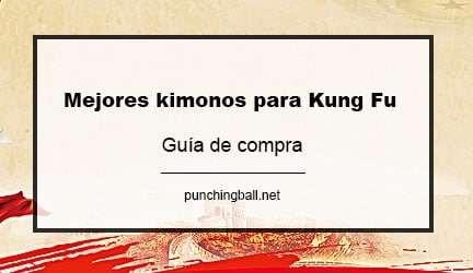 Mejores kimonos para practicar Kung Fu