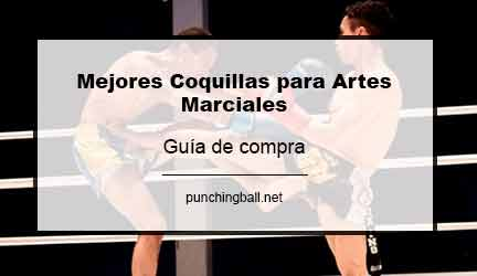 coquillas protectoras para la practica de las artes marciales