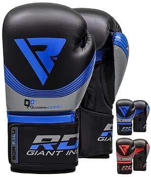guantes rdx para boxeo azul y rojo