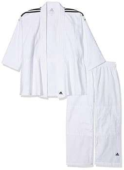 kimono adidas color blanco