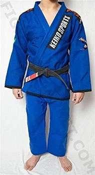 kimono keiko sports color azul