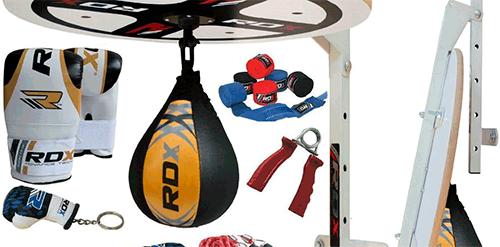 set de entrenamiento punching ball